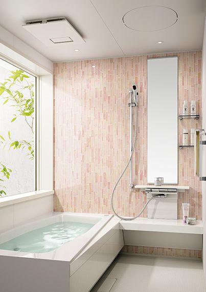 イメージ写真からバスルームを探す システムバスルーム Panasonic バスルームインテリア バスルームのデザイン モダンハウスデザイン