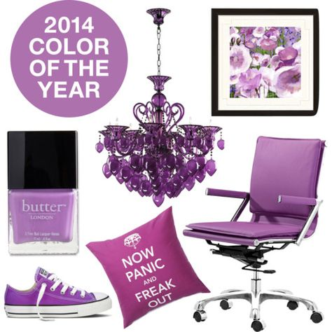 Pantone Color of the Year for 2014: Radiant Orchid