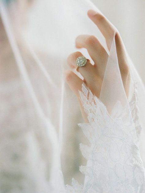 Diamante ring by La Belle classic contemporary fine art and romantic handmad