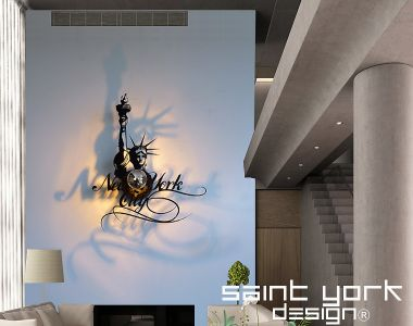 applique luminaire New York liberty ( New York statue de la ...