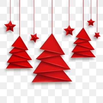 Vector Origami Christmas T And Red Stars Clipart Greeting Cards Star Png Transparent Clipart Image And Psd File For Free Download Christmas Origami Origami Christmas Tree Christmas Tree Crafts