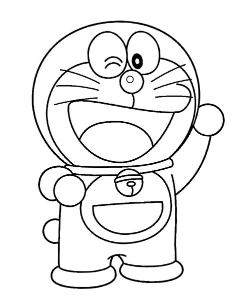 Doraemon Coloring Pages Pdf