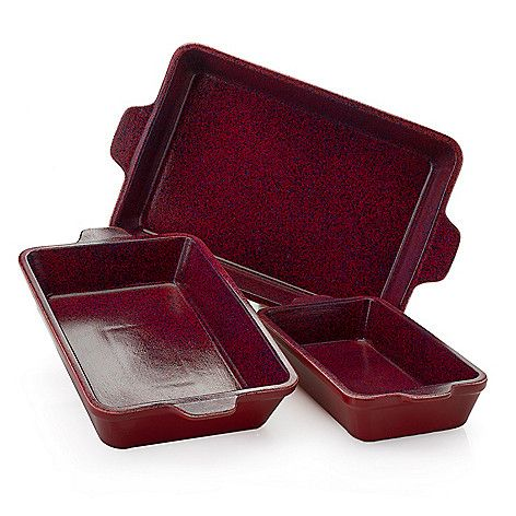 Deen Brothers 6 Piece Nonstick Stoneware Bakeware Set On Sale At