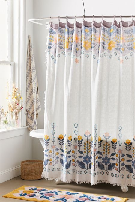 Medallions Shower Curtain In Grey Taupe Gold Custom Shower