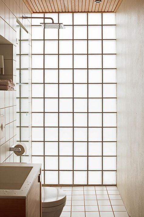 Brique de verre Nuage Translucide - CASTORAMA aménagement