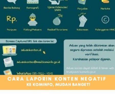 Cara Mudah Melaporkan Konten Negatif Ke Kominfo Di 2020 Selancar Dunia Berita