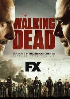 The Walking Dead Temporada 8 Español Latino Online The Walking Dead Poster The Walking Dead Walking Dead Tv Series