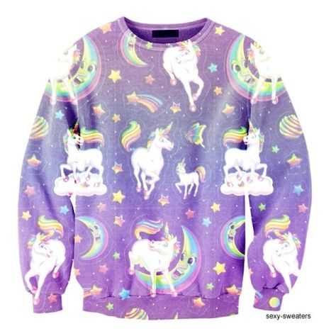 Get an awesome unicorn sweater and wear it to work!