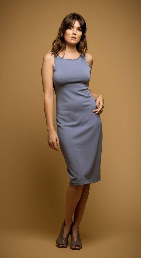 Mariposa Dress - S / Blue