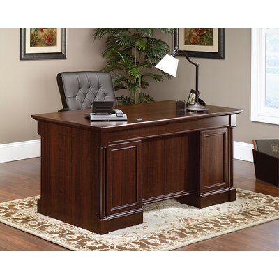 Red Barrel Studio Avienda Executive Desk In 2020 Desk Furniture