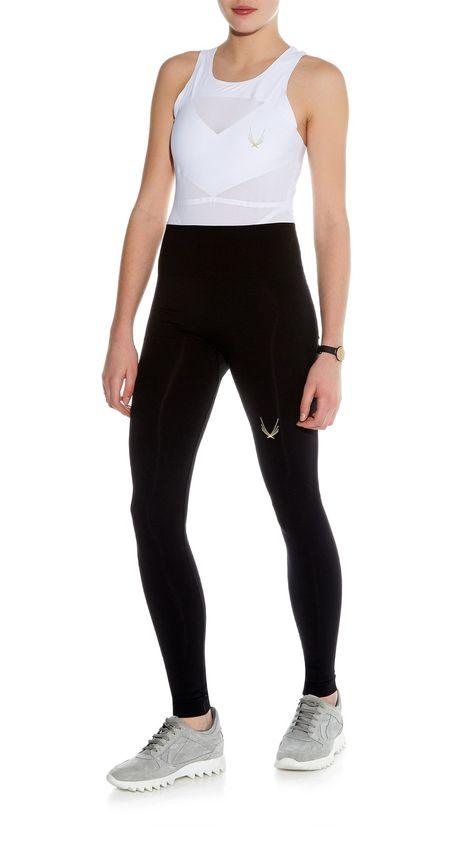 5d300edd7175b4 Lucas Hugh, Technical Knit Leggings - Black | Style PB | Luxury Legs ...