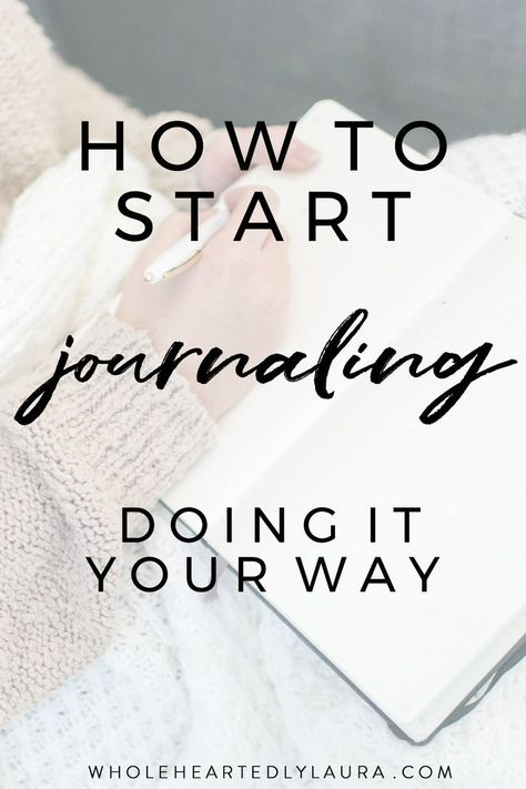How to start journaling - my tips for creating a journaling practice that transforms your life! #selfcare #journal #journaling