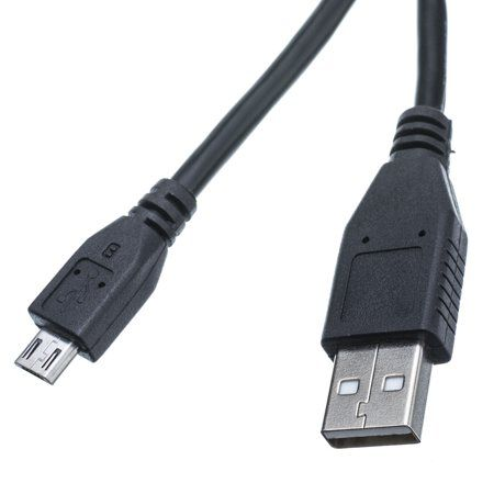 6ft USB 2.0 Type A Male to Micro B Male Data Sync Charger Adapter Cable
