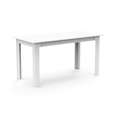 Loll Designs Fresh Air Plastic Dining Table Concrete Dining
