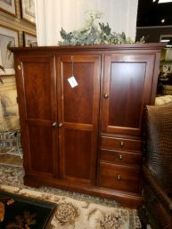 Delicieux Price: $549.99 Item #: 136646 Work Smart And Live Better With This Hooker  Computer Armoire In A Tobacco Stain. Youu0027ll Find A Computer Desk With A  Compact ...