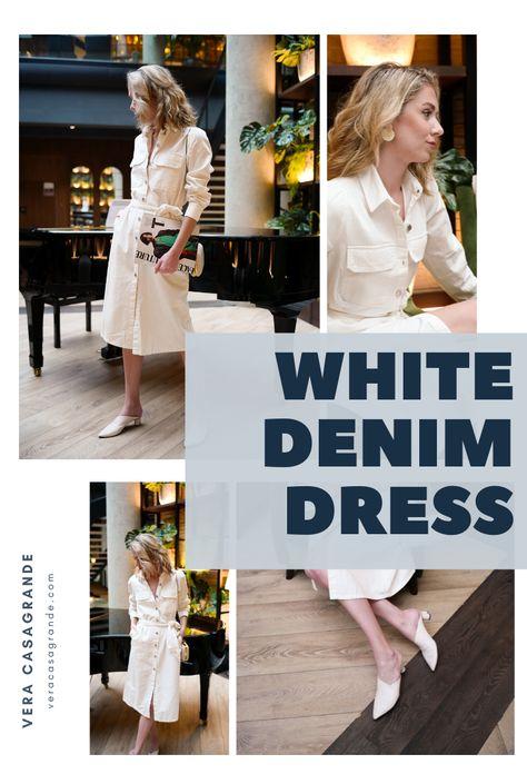 Looking for a white denim dress? Shop cutest designs. #whitedenimdress #whitedresses #denimdresses #denimdress #whitedenimdressoutfit #whitedenimdressclassy #whitedenimdressoutfitsummer #whitedenimdresssummer, #denimdress #denimdressoutfit #boujeeaesthetic #vogueaesthetic #richgirlaesthetic #denimdresssummer #summeroutfits #summerfashion #summerdress #springoutfits #springoutfitswomen #Springoutfits2020 #buttondown #buttondowndress #comfy #comfyoutfit #cozy #springdress #summerdress #easyoutfit