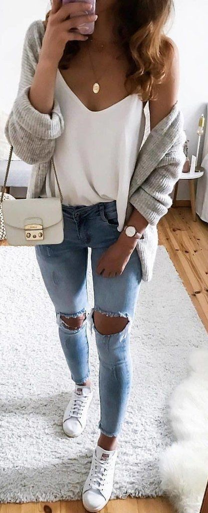 Cute Casual Back to School Outfit Ideas for 2018