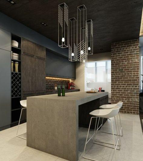 La Chaise De Cuisine Moderne En 62 Photos Inspirantes Cozinha E