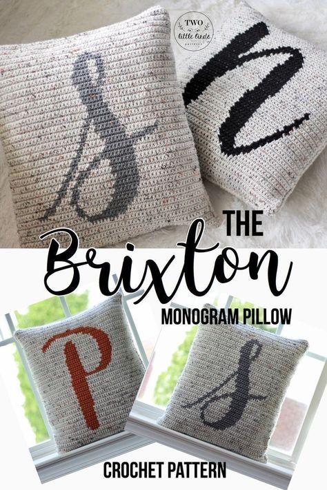 Joy Pillow Cover Crochet pattern by