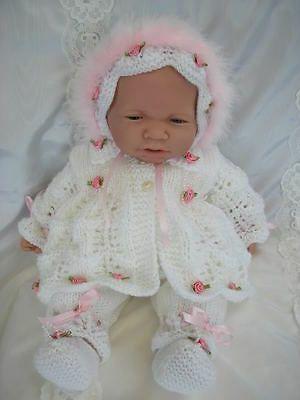 Free baby matinee coat pattern Gathered