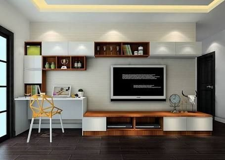 Image Result For Study Table With Tv Unit Images Kids Study Table Design Study Room For Teenage Desk In Living Room Living Room Tv Cabinet Desk And Tv Stand