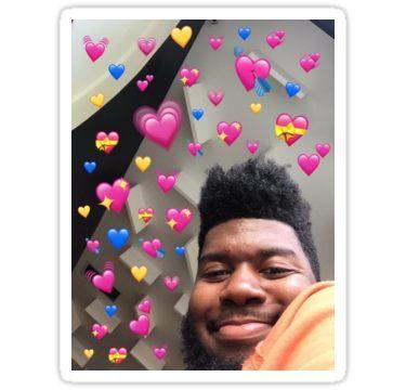 Khalid Sticker Emojis Corazon Memes Para Comentarios Caras De Memes