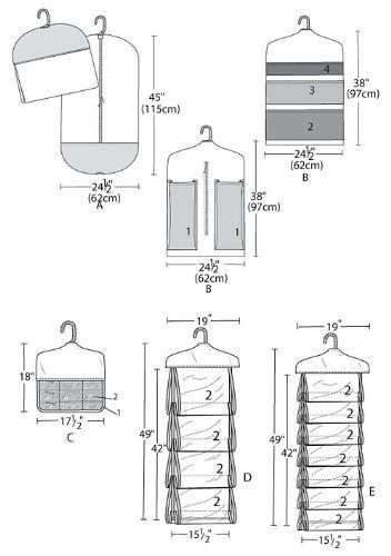 McCall's Patterns Garment Bag and Organizers, One Size OnlyPurse Organizer Sewing Pattern Free - Binorganizar g images Easy Sewing Projects, Sewing Projects For Beginners, Sewing Hacks, Sewing Tutorials, Sewing Crafts, Techniques Couture, Garment Bags, Purse Organization, Sewing Patterns Free