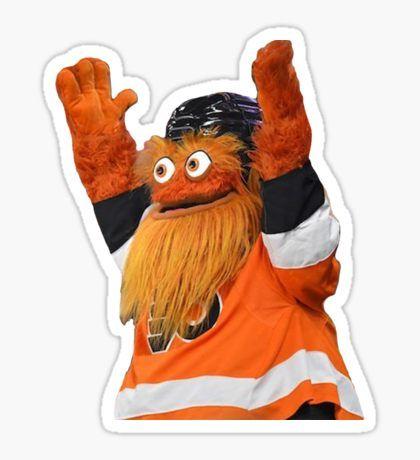 Hockey Stickers Stickers Mascot Philadelphia Flyers Stickers Stickers