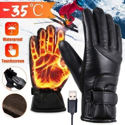 Ebay Advertisement Winter Motorcycle Motorbike Heated Gloves Warm Battery Electric Waterproof Glove Heated Gloves Waterproof Gloves Warm Gloves