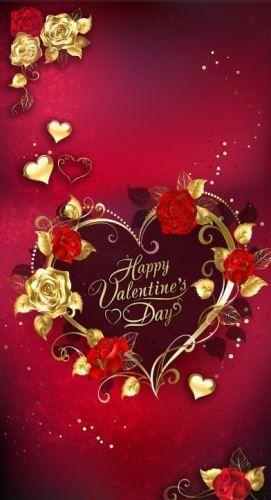 Happy Valentines Day 2020 In 2021 Valentines Wallpaper Valentines Day Greetings Happy Valentines Day