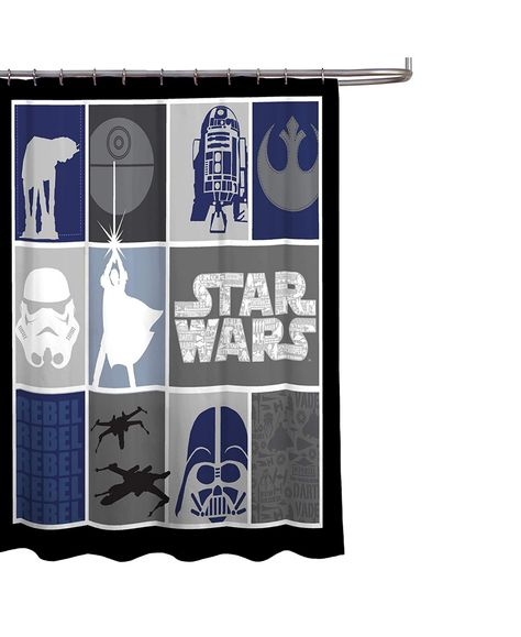 Star Wars Classic Shower Curtain Reviews Shower Curtains Bed