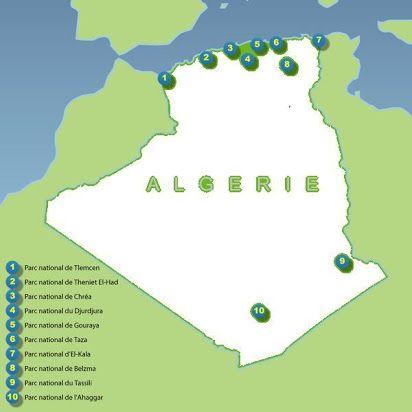 مشروع رسم خريطة لاهم المحميات الوطنية في الجزائر للسنة الثانية متوسط Http Www Seyf Educ Com 2020 07 National Reserves In Algeria Playing Cards Cards Algeria