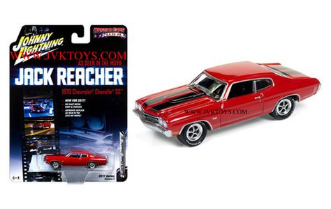 1970 Chevrolet Chevelle SS Jack Reacher Chevy 1:64 Johnny Lightning JLCP6002