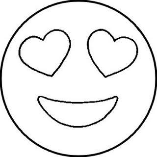 40 Desenhos De Emoji Emoticons Ou Smileys Para Colorir Pintar