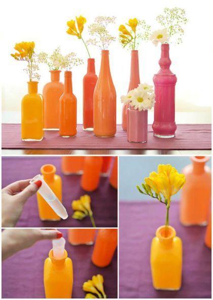 90 Gambar Kreasi Botol Bekas Terbaik Botol Botol Plastik Kreatif