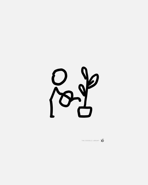 Stick figures and block figures in action Sharpie Drawings, Sharpie Doodles, Ink Doodles, Flower Doodles, Minimal Drawings, Easy Drawings, Cute Wallpaper Backgrounds, Wallpaper Iphone Cute, Simplistic Tattoos