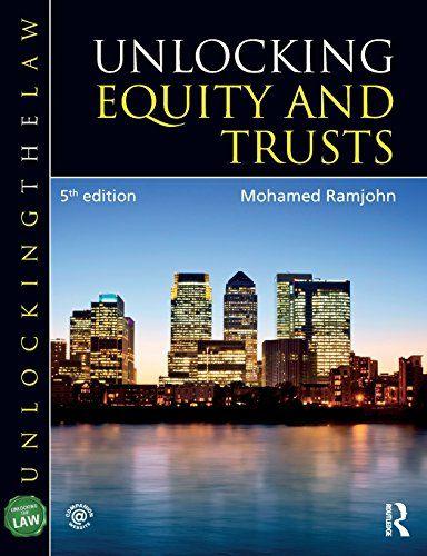 Download Pdf Unlocking Equity And Trusts Unlocking The Law Free Epub Mobi Ebooks Equity Ebook Trust
