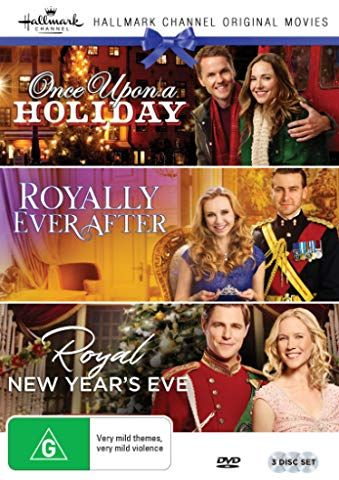 Hallmark Royal 3 Film Collection Once Upon A Holiday Royally Ever After Royal New Years Eve Royal Films Christmas Movies Hallmark Movies