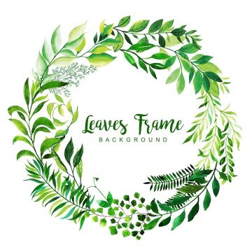 Watercolor Leaves Frame Background Watercolor Clipart Color Colorful Png And Vector With Transparent Background For Free Download Watercolor Leaves Frame Background Paint Splash Background