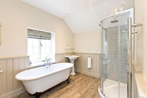 family bathroom with bath & separate shower | lambton