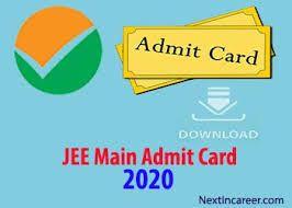 Jee Main Admit Card Download Engineering Exam Card Downloads Aadhar Card