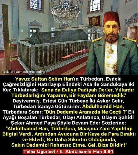 p #Abdülhamid #YavuzSultanSelim...