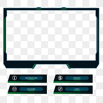 Twitch Live Stream Overlay Package Live Stream Game Png Transparent Image And Clipart For Free Download Overlays Free Overlays Deadpool Wallpaper