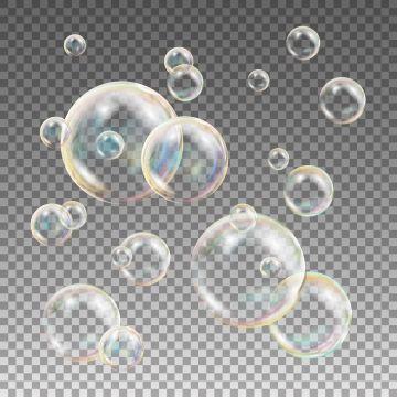Multicolored Soap Bubbles Vector Water And Foam Design Rainbow Reflection Soap Bubbles Isolated Illustration Bubbles Clipart Foam Shampoo Png And Vector With Soap Bubbles Bubbles Clip Art