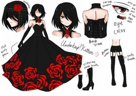 Drawing Of Girls Clothes 16 Ideas Anime Outfits Fashion Sketches Anime Dress
