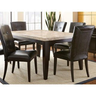 Amazing Greyson Living Malone 70 Inch Marble Top Dining Table Beatyapartments Chair Design Images Beatyapartmentscom
