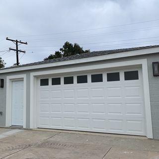 Double Box 15 1 2 High Clear Glass And Bronze Wall Light 3x096 Lamps Plus In 2020 Garage Door Design Garage Door Styles Garage Door Types