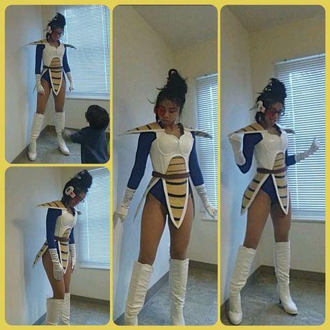 Princess Vegeta cosplay Source by