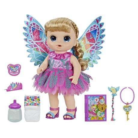 Baby Alive Once Upon A Baby Fairy Ani Walmart Canada In 2020 Baby Alive Doll Clothes Baby Alive Dolls Baby Doll Nursery