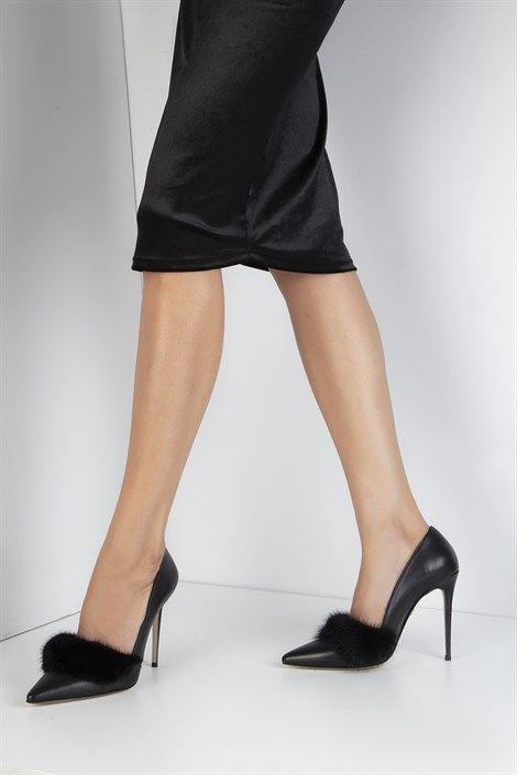 c25f30ba6a1 Romano Women's Stiletto Black Leather in 2019 | Sneakers ,Women's shoes